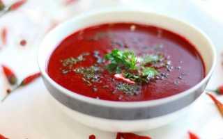 Горячий свекольник – классический рецепт с мясом, постный, как в детском саду и в мультиварке