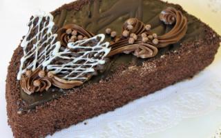 Торт «Черный принц» на кефире и сметане – рецепты крема со сгущенкой, вишней и вареньем