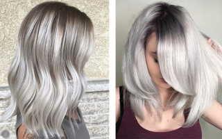 Пепельные волосы – натуральный, блонд, жемчужный, серый, черный, рыжий, розовый, фиолетовый, русые