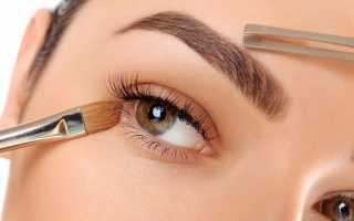 Коррекция бровей – оформление, окрашивание бровей хной, краской. Форма бровей по типу лица
