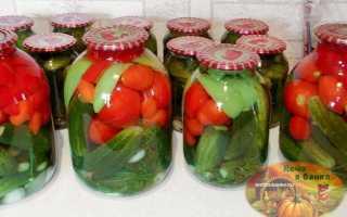 Огурцы с помидорами на зиму – рецепты маринованного ассорти, лечо, закуски по-корейски