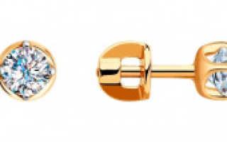 Модные серьги Сваровски – золотые, серебряные, пусеты, шарики, гвоздики, капли, со стразами