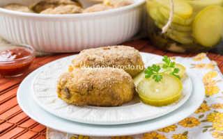 Картофельные крокеты с сыром, грибами, ветчиной – рецепты на сковороде во фритюре и в духовке
