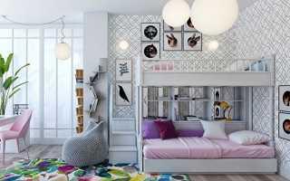 интерьер комнаты для девочки – дизайн для двух девочек, оформление для подростка, новорожденной