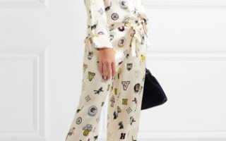 Пижамный стиль в одежде – женские брюки, платье, сарафан, рубашка, блузка, топ, майка, шелковый и бархатный костюм с шортами