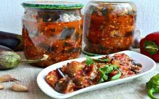 Острые баклажаны на зиму – рецепты по-грузински и по-корейски, с чесноком и в заливке