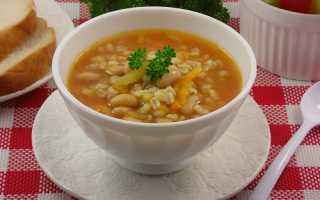 Как приготовить грибной суп с перловкой, рисом, курицей, говядиной, фрикадельками, кабачками, фасолью и сыром