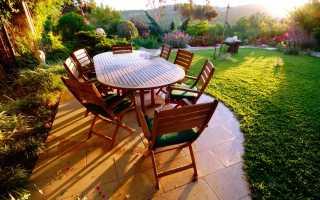 Патио – как правильно сделать патио на участке и красиво оформить зону отдыха