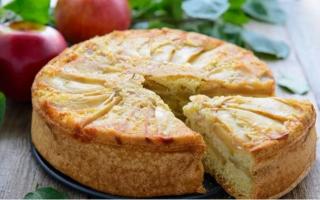 Выпечка с яблоками – вкусные рецепты шарлотки, манника, бисквита и других пирогов