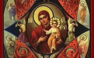 Икона «Неопалимая Купина» Божией Матери – значение, история, как выглядит, где вешать, образ, молитва, акафист, от пожара в доме