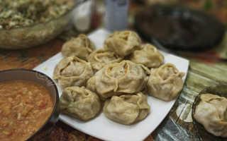 Манты с тыквой и мясом – узбекские рецепты с фаршем, курицей, свининой, бараниной