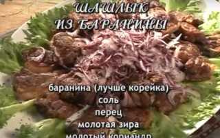 Шашлык из баранины – классические рецепты маринада. Как выбрать баранину и приготовить шашлык?