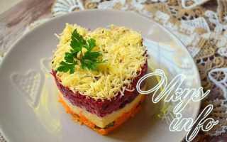 Салат из свеклы с чесноком и майонезом – рецепты с сыром, орехами, черносливом и морковью