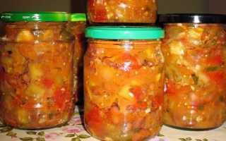 Фасоль с овощами на зиму – рецепты с кабачками, помидорами, баклажанами и перцем