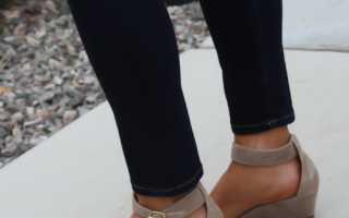 Модные закрытые босоножки – на каблуке, танкетке, платформе, плоской подошве, с закрытым носом, пяткой, щиколоткой, с какой одеждой носить?