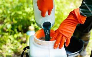 Бордосская жидкость – как использовать для опрыскивания деревьев, винограда, цветов и почвы?