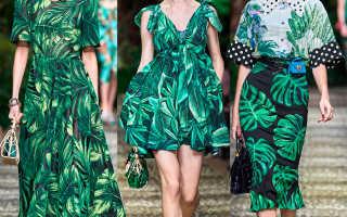 Женские сарафаны и платья Дольче Габбана 2020 – принты, ткани и вышивка Dolce&Gabbana