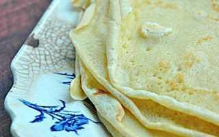 Постные блины – лучшие рецепты из рисового отвара, с минералкой, кипятком и на дрожжах