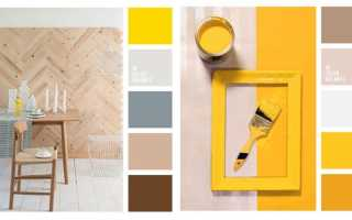 Как применить желтый цвет в интерьере и с чем он сочетается?