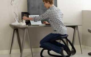 Коленный стул – как правильной выбрать, как отрегулировать и сидеть на такой конструкции?