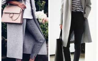 Пальто с кроссовками – зимнее, демисезонное, длинное, классическое, халат, оверсайз, кокон, приталенное, короткое, джинсовое
