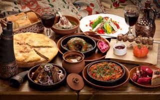 Грузинские блюда – рецепт лобио, долмы, гоми, гурули, хачапури, сациви, чкмерули и другие