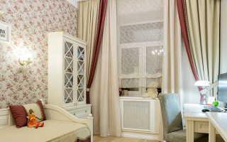 Детская в стиле прованс для девочки – мебель, шторы, обои в провинциальном стиле