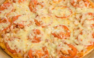 Пицца на кефире в духовке – рецепты теста, начинок с курицей, колбасой, грибами