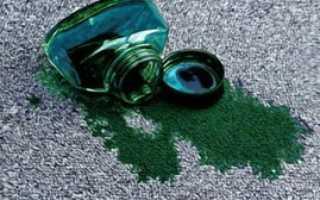 Как отстирать зеленку с одежды, как вывести пятно от зеленки с ткани?